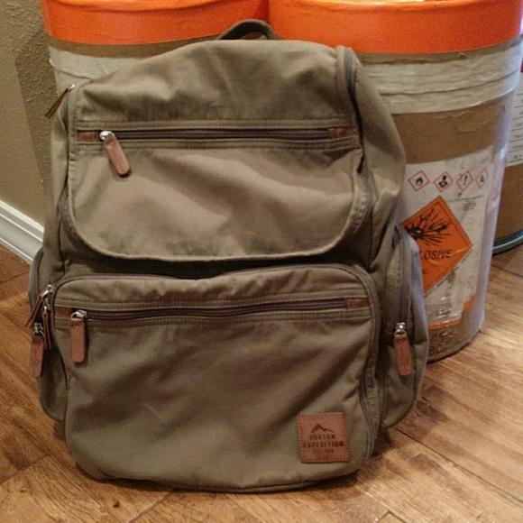 ace34e2ed224c9 Olive Buxton Expedition Huntington Backpack